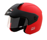 Vega Buds Junior Open Face Helmet for Kids-Helmets-Vega-50-54 CM Kids-Dull Red-Helmetdon