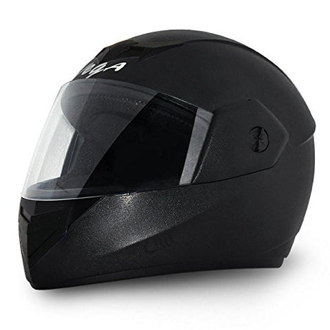 Vega Cliff Air Full Face Helmet-Helmets-Vega-M (Head Size 57 to 59 cm)-Black-Helmetdon