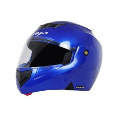 Vega Crux DX Flip-up Helmet-Helmets-Vega-M (Head Size 57 to 59 cm)-Blue-Helmetdon