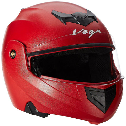 Vega Crux Flip-up Helmet Red-Helmets-Vega-M (Head Size 57 to 59 cm)-Red-Helmetdon