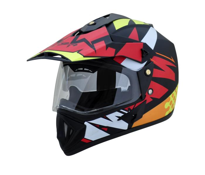 cffa681c Vega Old Off Road Helmet Clear Visor - VAST