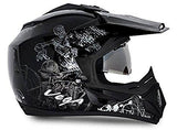 Vega Off Road Sketch Full Face Graphic Helmet-Helmets-Vega-Helmetdon