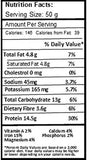VegOChef Vegan Cocoa Sugar-free Protein Bar with Almonds, Pea Proteins and Sunflower, 50g - Pack of 6-Health and Beauty-VegOChef-Helmetdon
