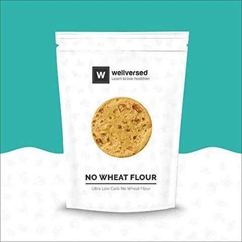 Wellversed - No Wheat Flour (500g) | Ultra Low Carb No Wheat Flour-Grocery-Wellversed-Helmetdon