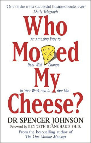 Who Moved My Cheese?: An Amazing Way to Deal With Change In Your Work and In Your Life-Books-TBHPD-Helmetdon