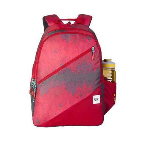 Wildcraft 32 Ltrs Red Casual Polyester Backpack (11658-Red)-Luggage-Wildcraft-Helmetdon
