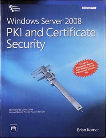 Windows Server 2008 Pki and Certificate Security-Books-TBHPD-Helmetdon