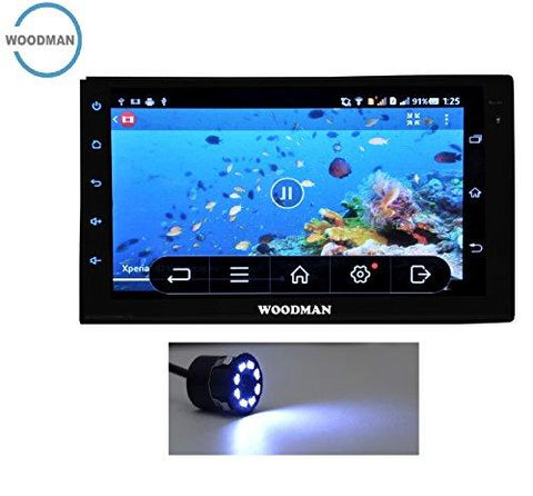 Woodman WM-LX-2027 Double Din with Bluetooth & USB Capacitive Touch (Full Hd) Car Stereo (Double Din) with Car Rear View Camera-Woodman-Helmetdon