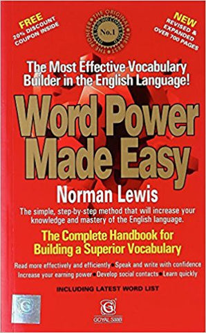 Word Power Made Easy-Books-UBSPD-Helmetdon