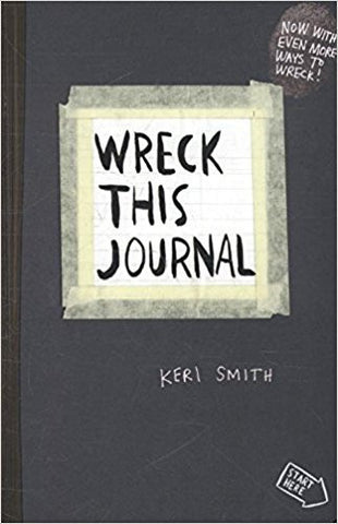 Wreck This Journal: To Create is to Destroy, Now With Even More Ways to Wreck!-Books-TBHPD-Helmetdon