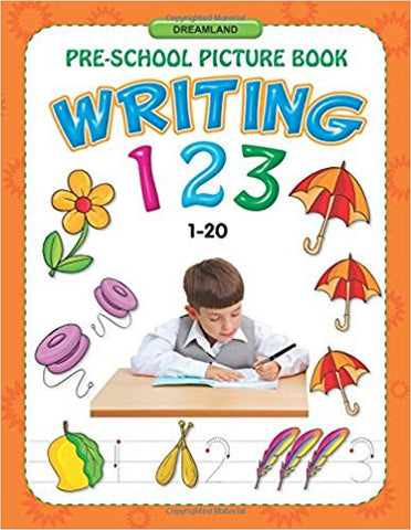 Writing 123 (1-20) (Pre-School Picture Books)-Books-TBHPD-Helmetdon