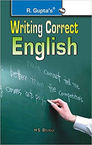 Writing Correct English-Books-TBHPD-Helmetdon