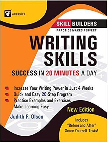 Writing Skills: Success in 20 Minutes a Day-Books-TBHPD-Helmetdon