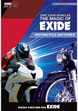 XLTZ5 Exide Sealed Battery for Bikes-Automotive Parts and Accessories-Exide-Helmetdon