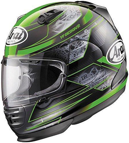 XX-Large : Arai Helmets Defiant Chronus Helmet, Gender: Mens/Unisex, Helmet Category: Street, Helmet Type: Full-face Helmets, Primary Color: Green, Size: 2XL, Distinct Name: Chronus Green 818785-Helmets-Arai-Helmetdon