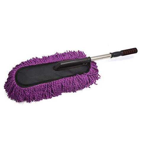 Zafos Car Duster For Car Cleaning Brush, Car Cleaning Brushes, Car Duster Cleaning Cloths With Smooth Bristles With Long Handle (Multicolor)-Automotive Parts and Accessories-Zafos-Helmetdon