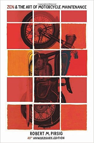 Zen And The Art Of Motorcycle Maintenance: 40th Anniversary Edition-Books-TBHPD-Helmetdon