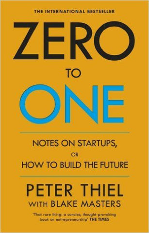 Zero to One: Note on Start Ups, or How to Build the Future-Books-TBHPD-Helmetdon
