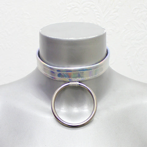 Hologram O-Ring Choker