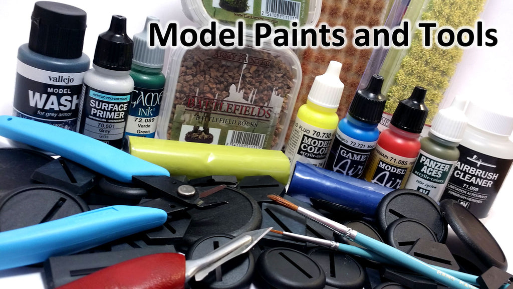 Model Paints and Tools