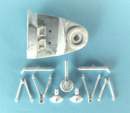 SAC 14405 PBY-5A Catalina Landing Gear For 1/144th Scale Minicraft Model