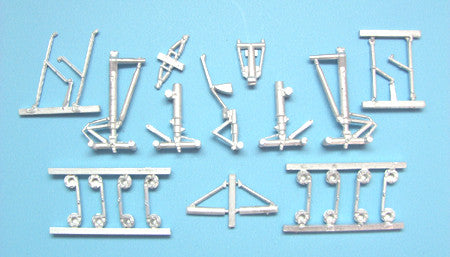 SAC 14406 Boeing 747-800 Landing Gear for 1/144th Scale Zvezda Model
