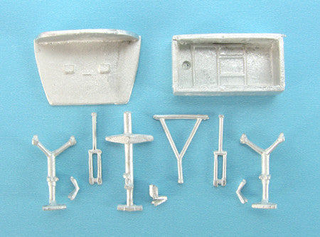 SAC 14407 C-124 Globemaster II Landing Gear for 1/144th Scale Roden Model
