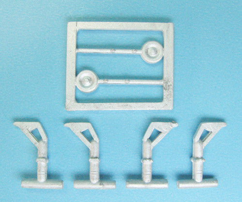 SAC 14414 B-52 Stratofortress Landing Gear For 1/144th Scale Minicraft Model