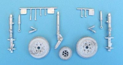 SAC 48173 Hawker Hunter Landing Gear for 1/48th  Scale Academy/ Italeri