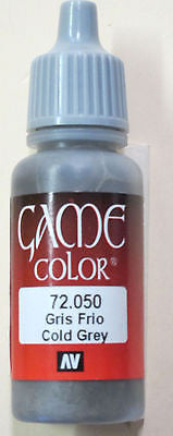 72050 Vallejo Game Color Paint: 17ml Cold Grey