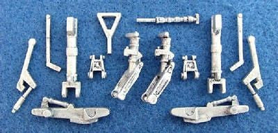SAC 48101 Su-7, Su22 Fitter Landing Gear For 1/48th Scale Kopro, Eduard Model