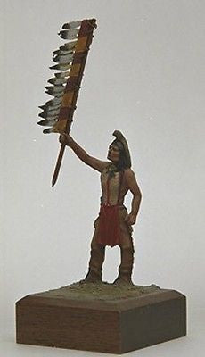 Kit# 9877 - Indian Crow Warrior