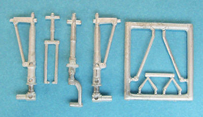 SAC 72078 P-38 Lightning Landing Gear For:1/72nd  Academy and RS Models