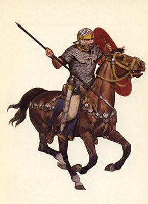 Kit# 9916 - Mounted Roman Cavalryman