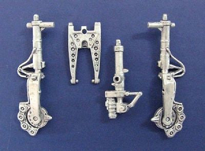SAC 48119 F-89 Scorpion Landing Gear For 1/48th Scale Revell Model