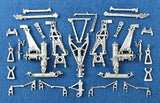 SAC 48072 B-1B Lancer Landing Gear For 1/48th Scale Revell, Monogram Model
