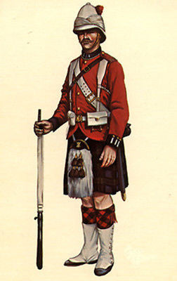 Kit# 9912 - 42nd Highlander, 1884