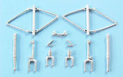 SAC 48291 Ka-27 Helix Landing Gear for 1/48th Scale Hobby Boss Model