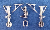 SAC 48112 F-5F Tiger II Landing Gear For 1/48th Scale Monogram, Revell Model