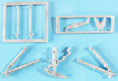 SAC 72111 F-8E Crusader Landing Gear For 1/72nd Scale Academy Model