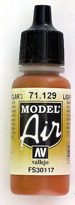 71129 Vallejo Model Airbrush Paint 17 ml Light Rust