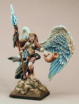 Kit# VEL1027 - Avril, Winged Elf by Valiant Miniatures - NEW
