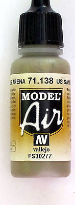 71138 Vallejo Model Airbrush Paint 17 ml US Arena