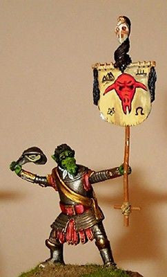 Kit# 9868 - Man-Orc Ensign Bearer