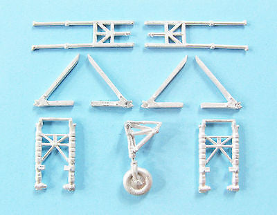 SAC 72114 Bristol Beaufighter Landing Gear for 1/72nd Scale Airfix Model