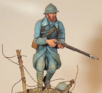 Kit# 9853 - French Infantryman WWI