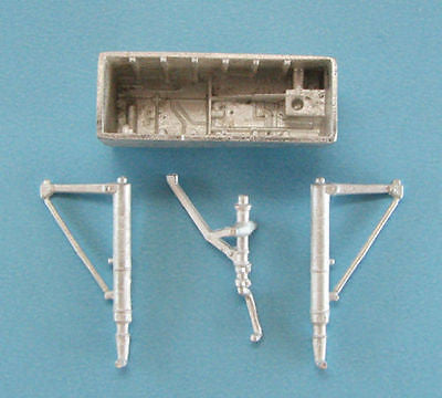 SAC 72056 F-102 Landing Gear & Nose Bay For 1/72nd Meng-Model / Hasegawa Model