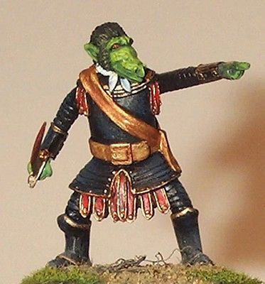 Kit# 9867 - Man-Orc Officer