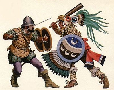 Kit# 9889 - Aztec Eagle Knight