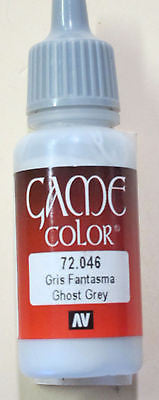 72046 Vallejo Game Color Paint: 17ml  Ghost Grey